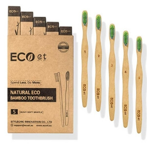 Eco et bamboo toothbrush