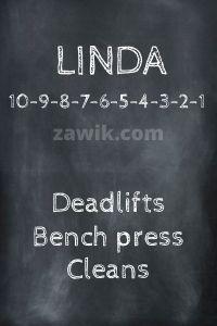 WOD Chica Crossfit Linda